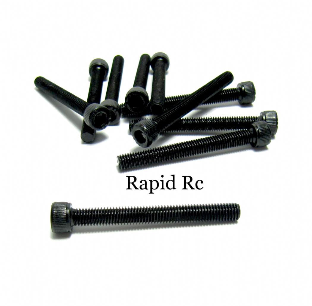 M5x 30mm Socket cap Head high Tensile Bolts fully threaded